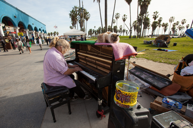Venice Boardwalk Piano Player - 8