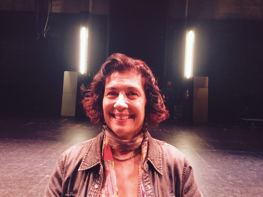 April 2017: Theresa Chavez, artistic director of About... Productions and an original