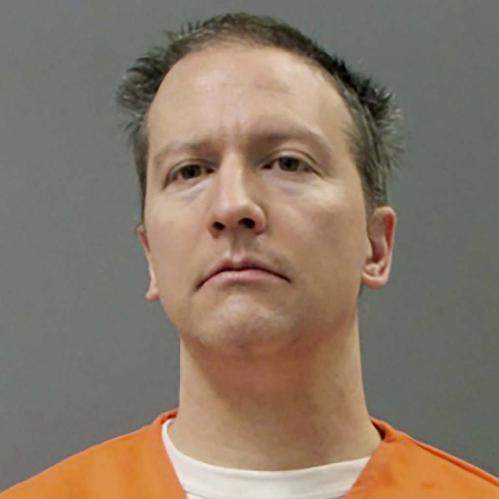Former Minneapolis police officer Derek Chauvin, seen here in an April 21 booking photo, may face a longer sentence after Judge Peter Cahill found aggravating factors in the case.