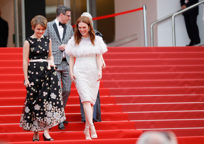 Actress Millicent Simmonds at the 2017 Cannes Film Festival.