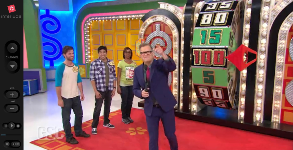 Drew Carey hosts