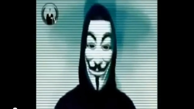 A video allegedly issued by the shadowy hacker network Anonymous has Hawthorne Police concerned about their cyber security.