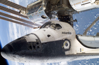 Space Shuttle Atlantis Continues On Last Scheduled Mission