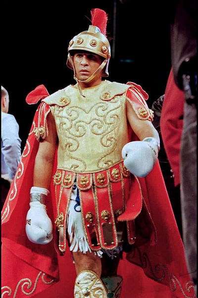 "Hector ""Macho"" Camacho, known for his flamboyant style during his career, is fighting for his life in a Puerto Rico hospital after being shot Tuesday."