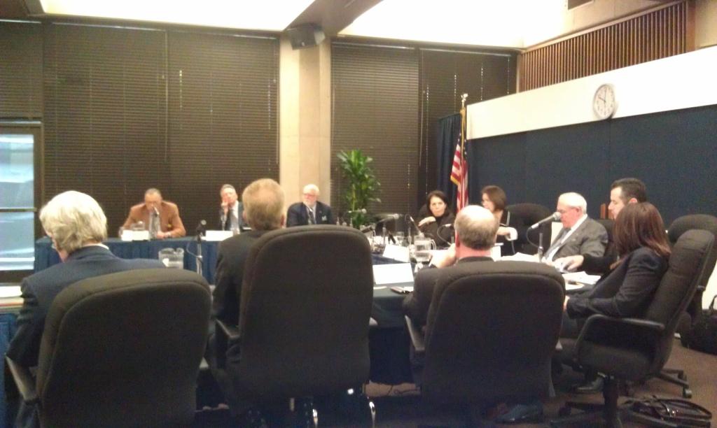 UC Regents meeting in November at UCLA.