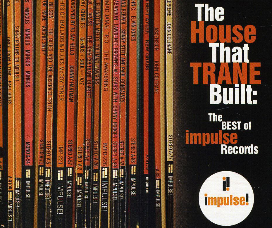 Album cover for a collection of Best Of Impulse Records tracks.