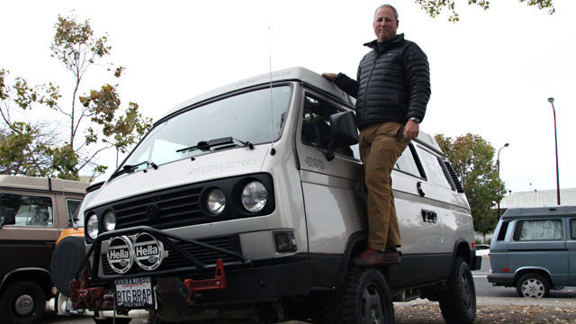 Steve Perzan has taken his Westfalia for repairs and upgrades to the Buslab for years.