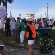 Laguna Beach protest