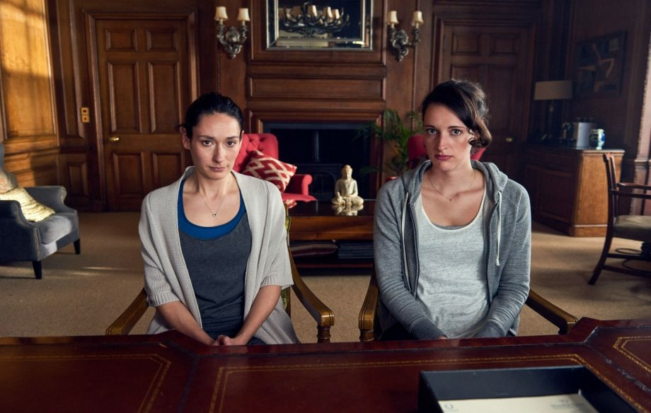 Sian Clifford, left, plays the sister of Phoebe Waller-Bridge in