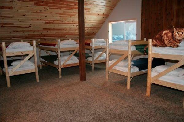 Santa's flooded Arctic home...elves once slept here?