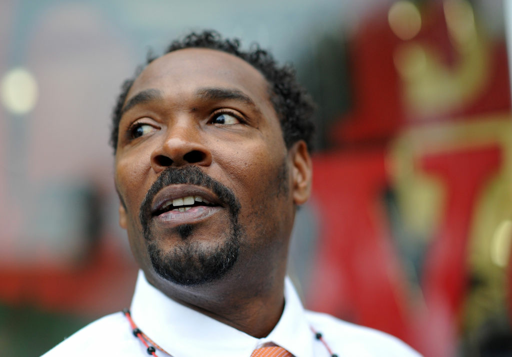 Rodney King speaks during a book signing event for his new book, 'The Riot Within: My Journey From Rebellion to Redemption,' at EsoWon bookstore on April 30, 2012 in L.A.