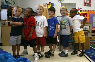 Friends in class, but when should parents broach the subject of race with their kids?