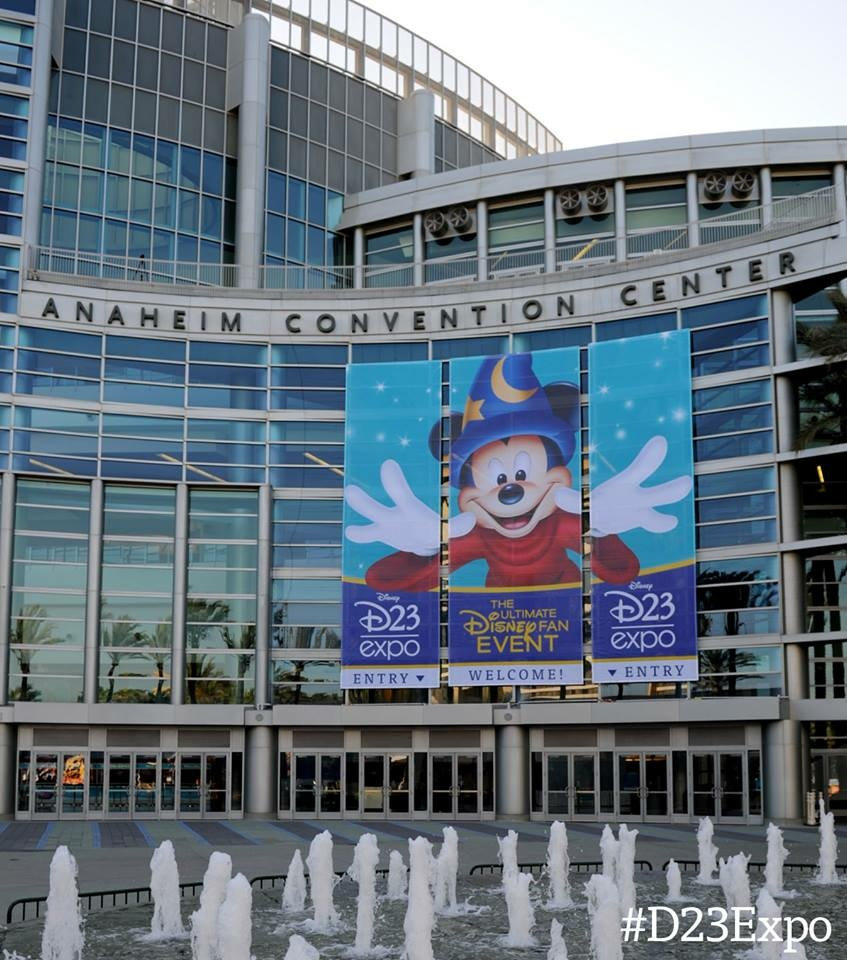 A 2013 Disney expo in Anaheim.