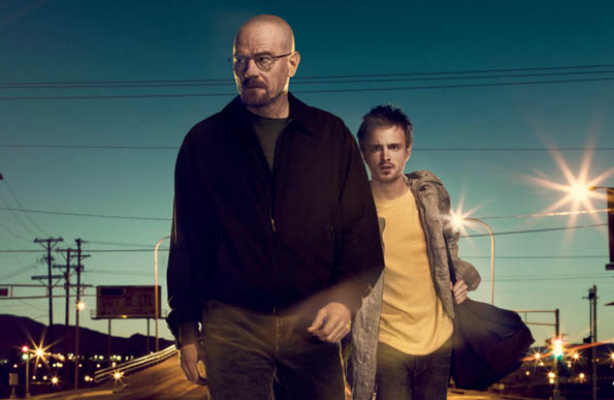 Walter White played by Bryan Cranston and Jesse Pinkman played by Aaron Paul are the lead characters in the hit series Breaking Bad.