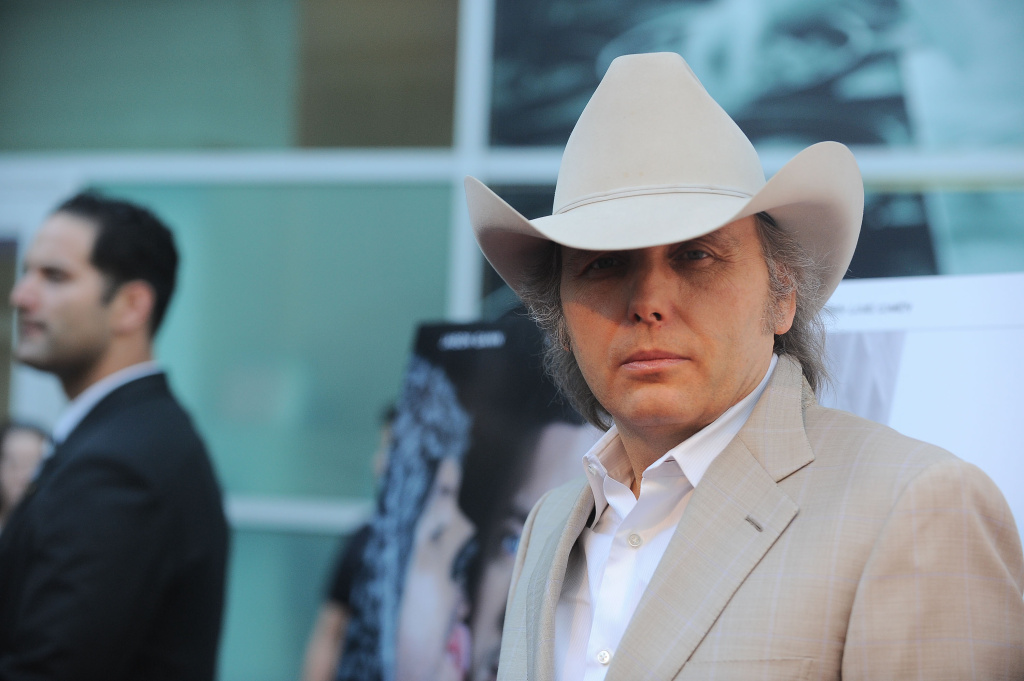 Dwight Yoakam arrives at the premiere party for FX's