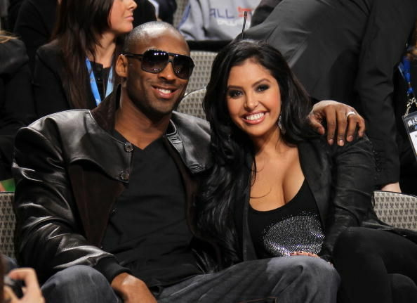 Kobe and Vanessa Bryant attend the skills competition at the NBA's All-Star Saturday Night in Dallas in February, 2011.