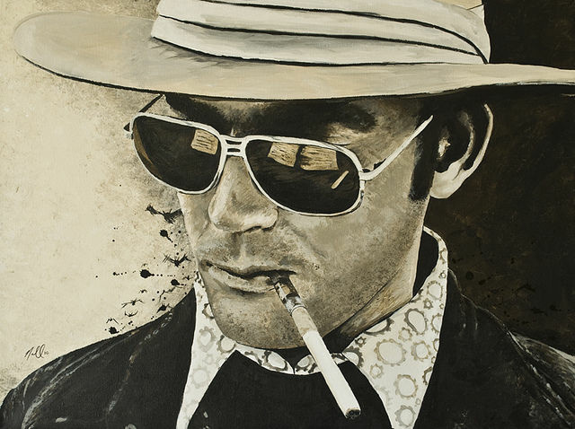 Hunter S. Thompson, one of the most famous political convention writers, covered the 1972 Democratic Convention in