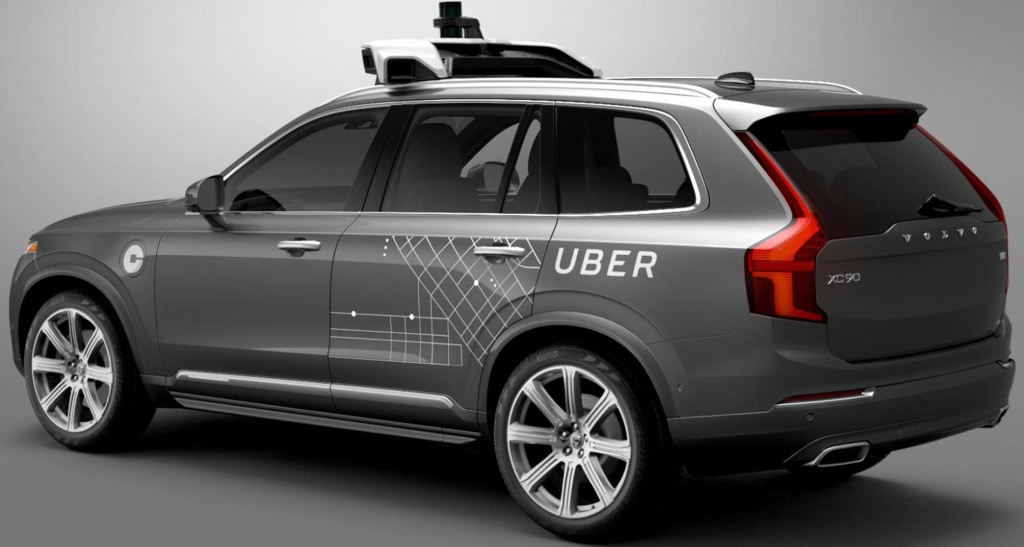 Uber has a self-driving car partnership with Volvo.