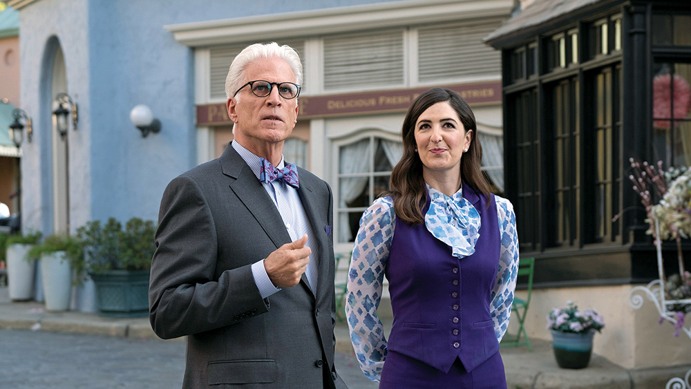 D'Arcy Carden stars along with Ted Danson in NBC's