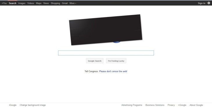 Wikipedia blacked out its whole website to join the SOPA/PIPA protest