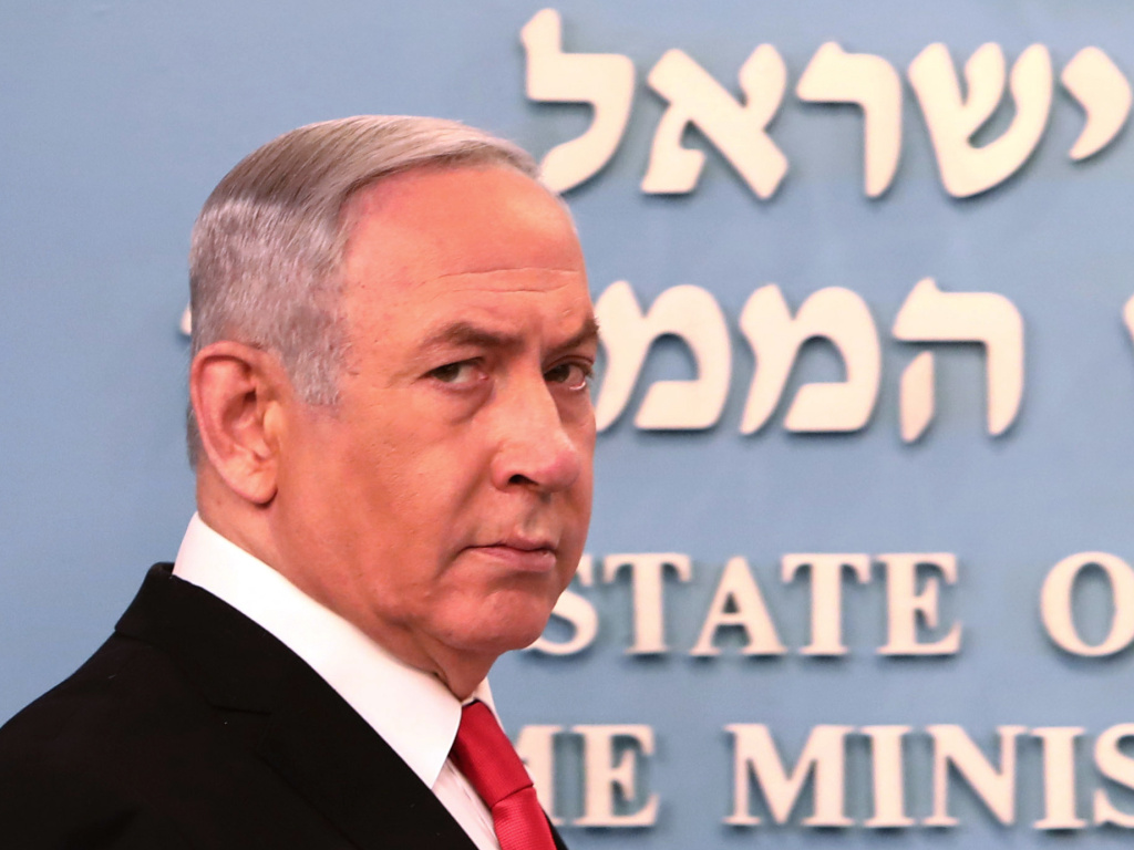 Israel's Supreme Court convened Sunday to decide if Prime Minster Benjamin Netanyahu should be barred from leading a unity government as he faces corruption charges.