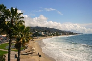 Laguna Beach in Orange County, California.