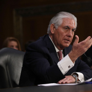 Senate Confirmation Hearing Held For Rex Tillerson To Become Secretary Of State