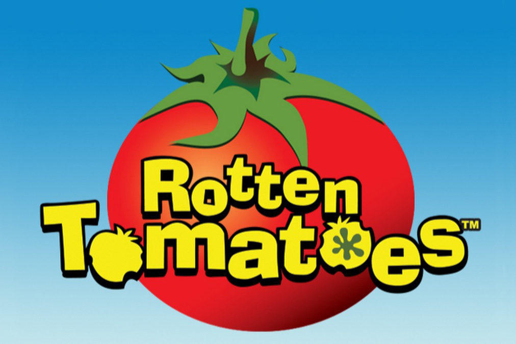 Logo for the Rotten Tomatoes movie review aggregation site.