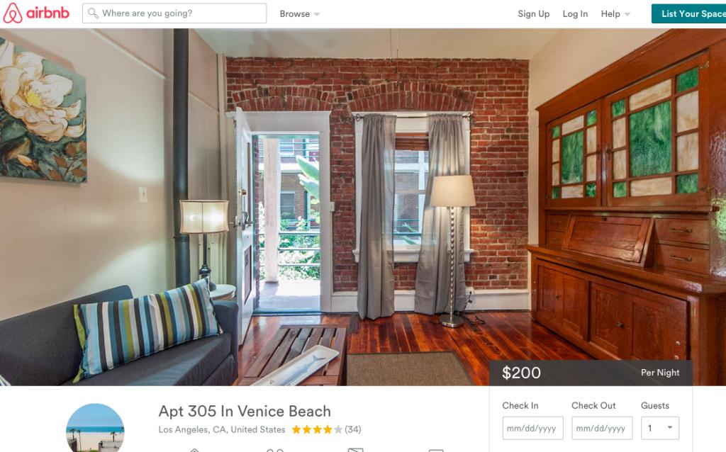 Airbnb said that