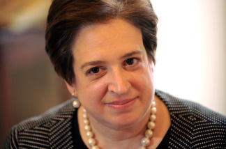 US Supreme Court nominee Elena Kagan makes the rounds on Capitol Hill on May 13, 2010 on Capitol Hill in Washington, DC.