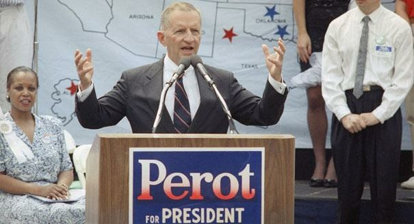 1992 Presidential Candidate Ross Perot