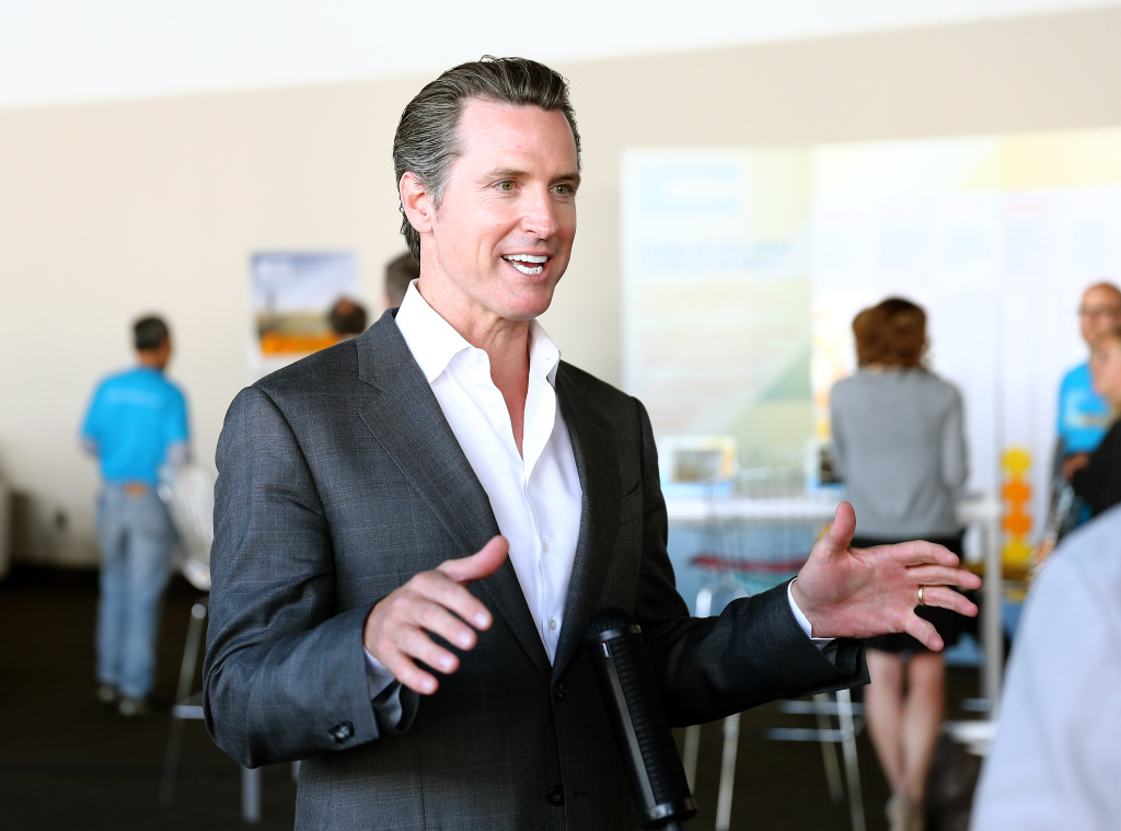 California Lt. Governor Gavin Newsom is interviewed during The New York Times Global Forum with Thomas L. Friedman at the Metreon on June 20, 2013 in San Francisco, California.