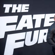 "Actor Dwayne Johnson attends ""The Fate Of The Furious"" New York Premiere at Radio City Music Hall on April 8, 2017 in New York City."