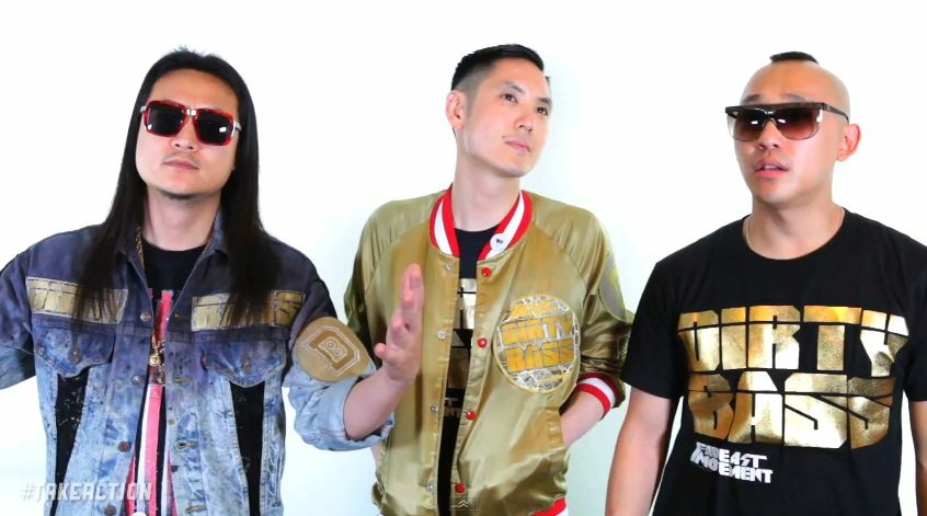 The musical group Far East Movement appears in a promotional video urging fans to vote.