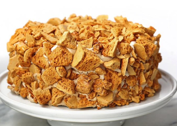 Blum's Coffee Crunch Cake from Valerie Confections.