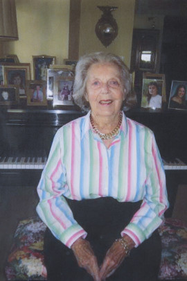 A family photo of Elizabeth Fee shortly before she died in 2012.