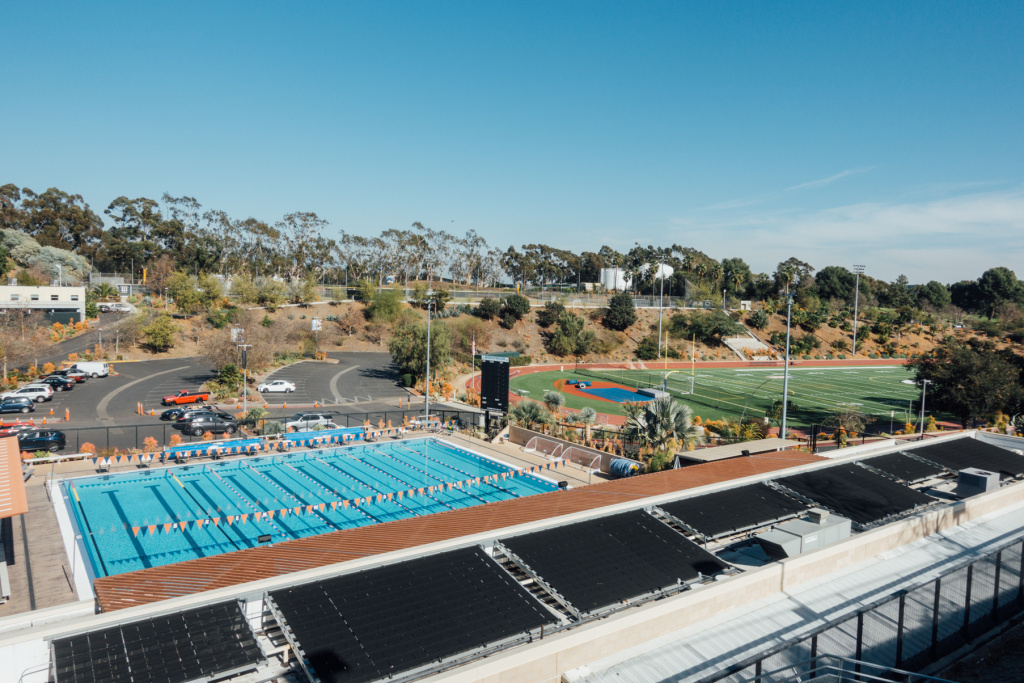 The private Brentwood School leases 22 acres from the West LA VA to house athletic facilities.