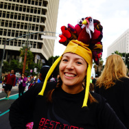 Jazmin Ortega at Turkey Trot LA