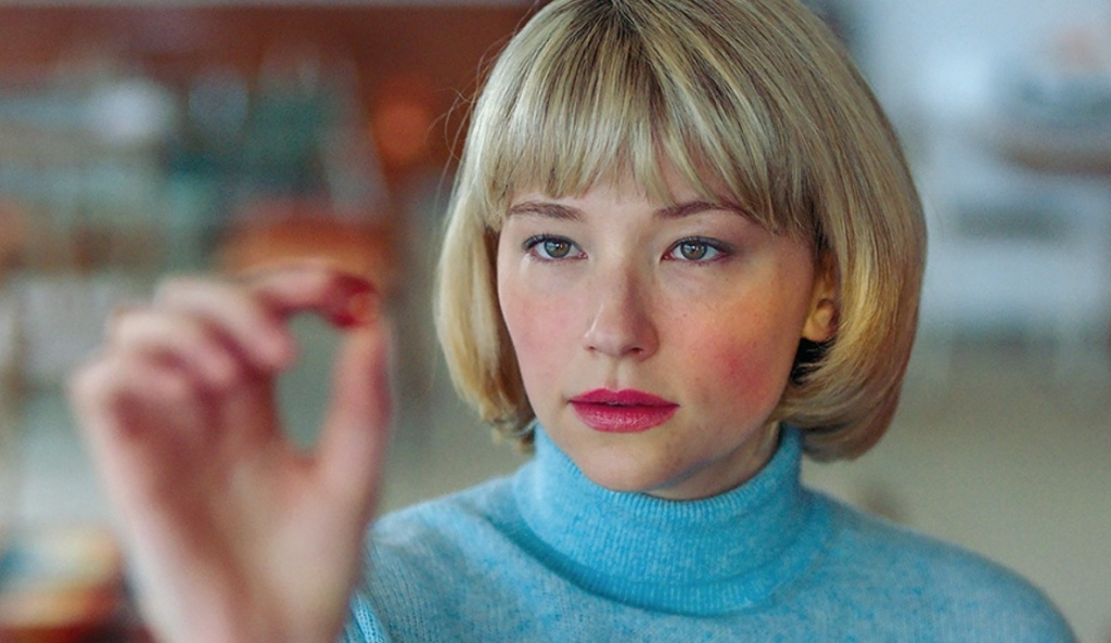 "Haley Bennett stars in ""Swallow"" as a young woman with a disorder that causes her to eat dangerous objects."