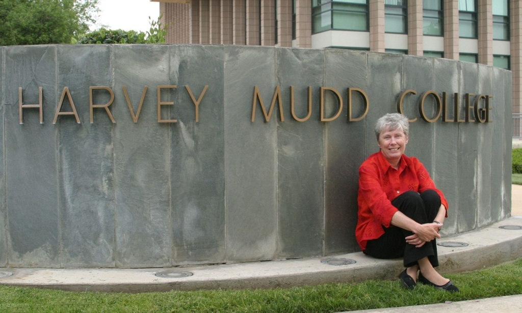 Harvey Mudd College President Maria Klawe says her passion is diversifying the STEM fields.