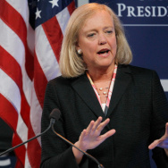 Former California gubernatorial candidate and current Hewlett Packard Enterprise CEO Meg Whitman.