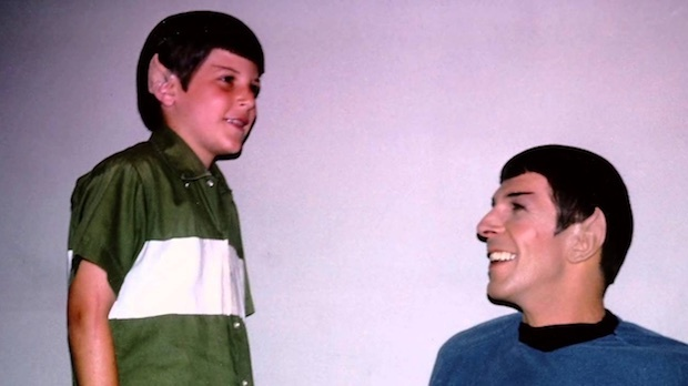 Adam Nimoy and his father Leonard Nimoy. Their relationship is the backbone of the new documentary