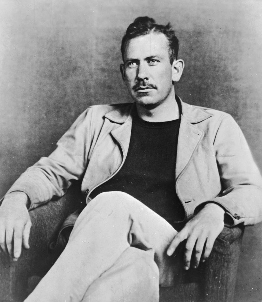 Author John Steinbeck's
