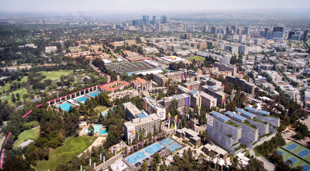 UCLA will provide 17,000 beds for Olympic athletes and support personnel.