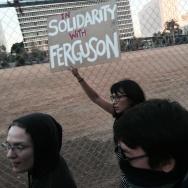 Ferguson protests in LA