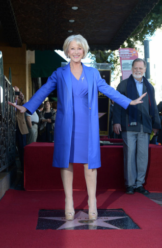 US-ENTERTAINMENT-CINEMA-HELEN MIRREN-HOLLYWOOD STAR