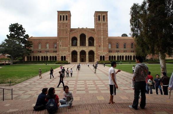 Students at University of California, Los Angeles (UCLA)
