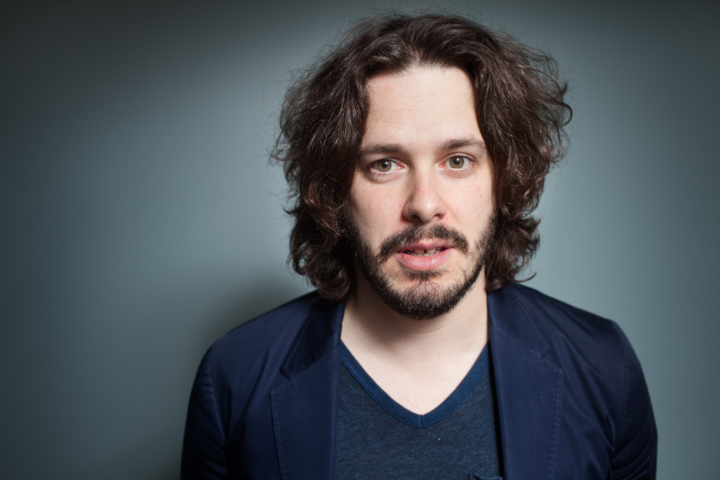 Director Edgar Wright at KPCC.