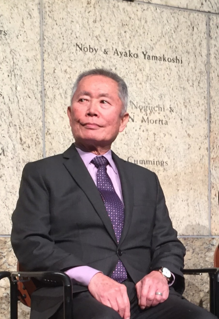 George Takei helped to mark the 75th anniversary of the signing of Executive Order 9066 which paved the way for the incarceration of Japanese-Americans during World War II.