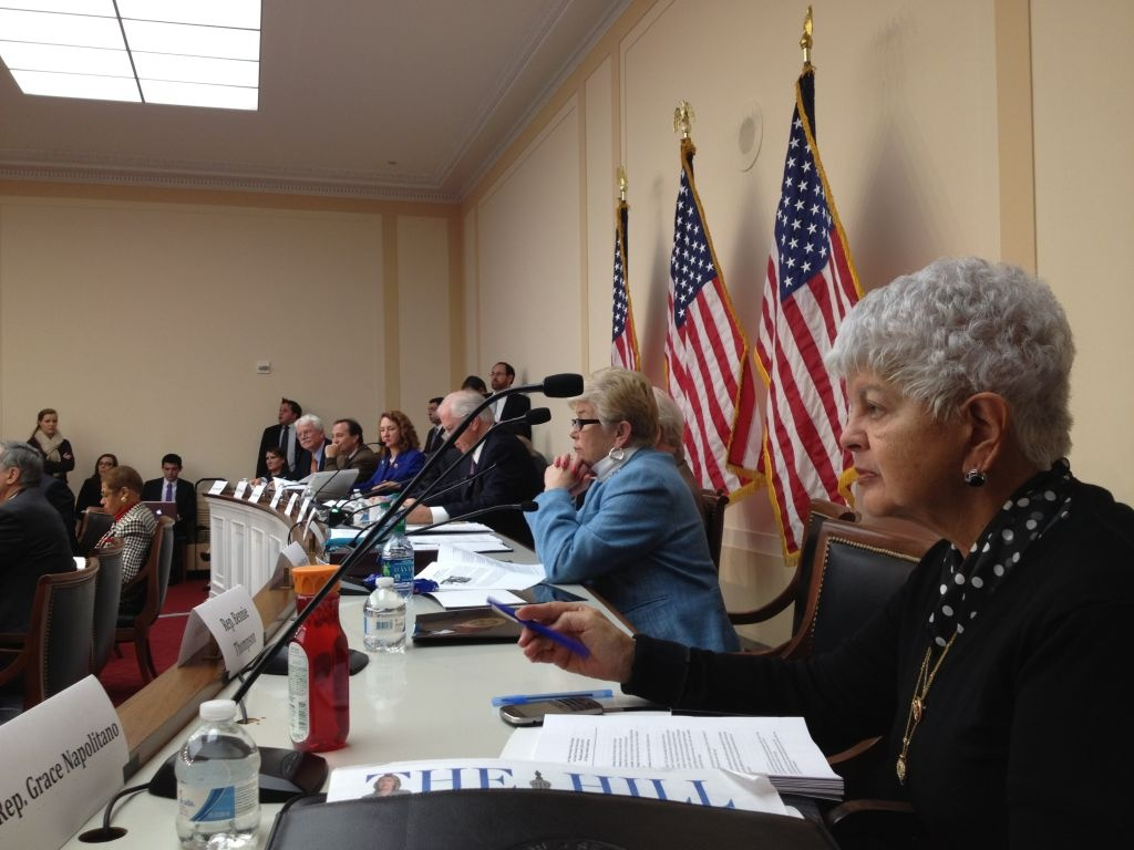 Grace Napolitano (D-Los Angeles), foreground, serves on the House Gun Violence Prevention Task Force.